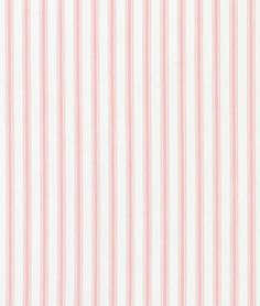 Shop Covington Pink Woven Ticking Fabric at onlinefabricstore.net for $14.45/ Yard. Best Price & Service.