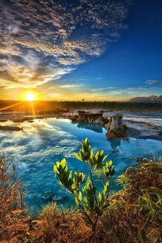 Blue Lake, Indonesia | See more Amazing Snapz