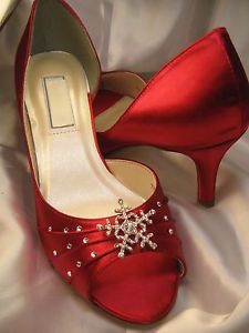 red winter wedding shoes - Google Search