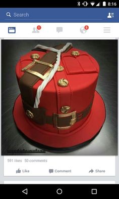 Beautiful Cake Designs, Beautiful Cakes, Canadian Party, Police Party, Planes Party, Cake Board, Canada Day, Cupcake Cookies, Themed Cakes