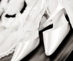 How to clean satin shoes @Katie Morton