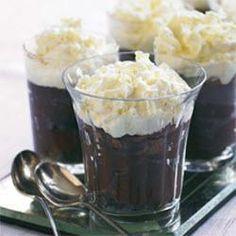 Chocoladetimbaal met witte chocoladeroom @ allrecipes.nl