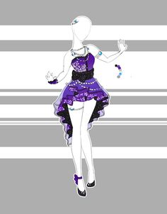 .::Outfit Adoptable 34(OPEN)::. by Scarlett-Knight.deviantart.com on @DeviantArt