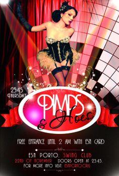 Pimps amp hoes party esn porto more