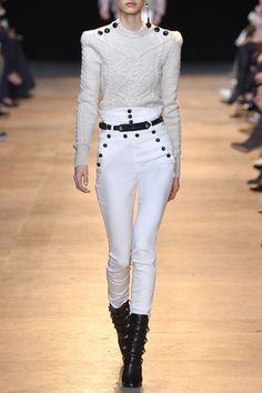 Isabel Marant | Nepos high-rise stretch-cotton twill skinny pants | NET-A-PORTER.COM