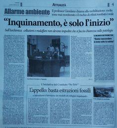 Corriere dell'Irpinia - 24 febbraio 2014 - in relazione all'evento http://www.forumambientale.org/event-view/dallirpinia-alla-valle-del-sele-terre-da-avvelenare-o-salvaguardare/
