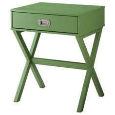 Love This Campaign Style Side Table By Threshold For Target