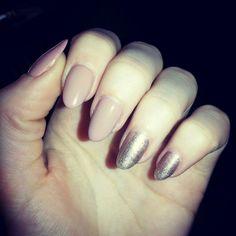 #polishnails #my #natural #nails