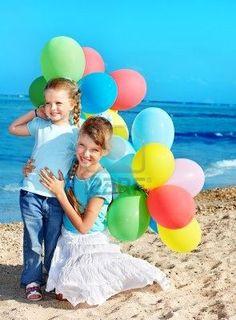balloon's and children ideas