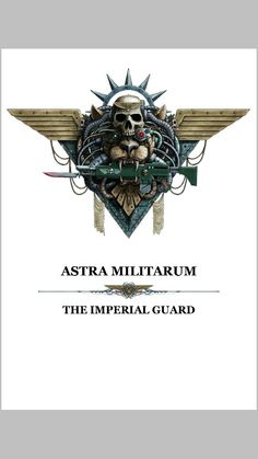Astra Militarum - but they'll always be the Imperial Guard to me