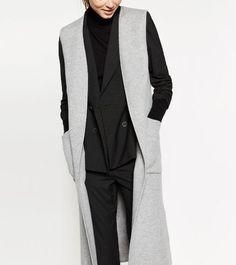 f3b8b59b5709 Click to Buy    2016 Autumn Winter Fashion Woman Luxury New Grey Long
