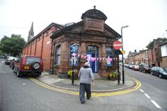 Woolton Baths on Quarry Street South Liverpool History, Liverpool Home, Baths, Street View, Gems, Doors, Architecture, City, Arquitetura