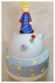 Tarta de cumpleaños de El Principito