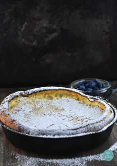 Dutch Baby - This beautiful and delicious treat is great for brunch or breakfast! A family favorite! from addapinch.com