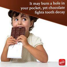 Now you can save your tooth paste! YES! Instead of brushing our teeth, we can eat chocolate. 'Cause chocolate has an anti-bacterial effect in our mouth that can prevent tooth decay.  #eat #chocolate #tooth #antibacterial #healthtips