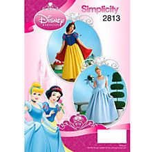 Buy Simplicity Costume Sewing Pattern, 2813 Online at johnlewis.com