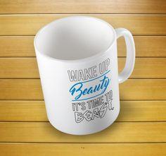Wake Beauty Is The Beast Mug #beastmug #beautymug #beautyisthebeast #beautyandbeastmug #beastmodemug #funnycoffeemug #coffeemug #teamug #whitemug #ceramiccoffeemug #mugs #mug #whitemug #drinkware #drink&barware #coffeemug #teamug #kitchen&dining #giftmugs #cup #home&living #funnymugs #funnycoffecup #funnygifts