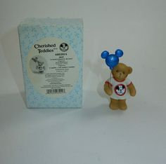 Enesco 2004 Cherished Teddies #4002914 Jeri A Good Friend All Ears Mickey Mouse