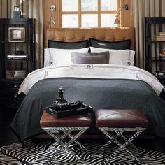 Fairfax Bed & Headboard | Williams-Sonoma