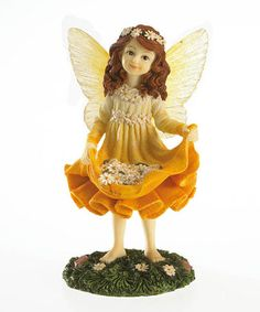 Another great find on #zulily! Daisy Chain Fairy Figurine #zulilyfinds