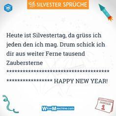 Silvestersprüche - Lustige Silvester Sprüche - Happy New Year