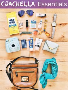 Coachella Essentials - what to pack for the festival!