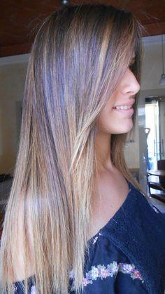 Spotted...in salone! Gradazioni di colore...che fanno la differenza! Questione di stile.  #cdj #degradejoelle #clientefelice
