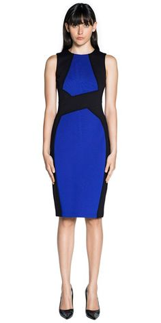 CUE - Angled Pencil Dress