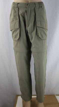 Columbia GRT Women's Active Convertible Cargo Pants Shorts Combo Size S Cargo Pants, Khaki Pants, Brand Name Clothing, Tight Leggings, Brand Names, Columbia, Convertible, Shorts, Clothes