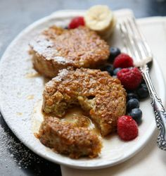 Cornflake-Crusted Brioche French Toast - based on the one used at the Lafayette restaurant in the Hay-Adams hotel in Washington, D.C. // Saveur
