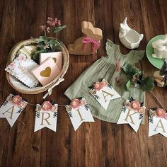 Paper Flower Garlands, Paper Flower Backdrop, Paper Flowers, Nursery Name, Nursery Signs, Blush Peonies, Floral Banners, Bridal Shower Decorations, New Baby Products