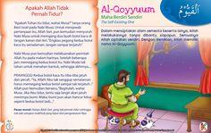 Kisah Asma'ul Husna Al-Qoyyuum Kids Story Books, Stories For Kids, Asma Allah, Islamic Quotes, Kids And Parenting, Malta, Quran, Muslim, Knowledge