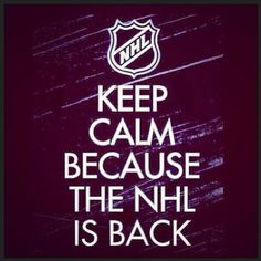 La #NHL est de retour à partir de samedi ! / #NHL is back