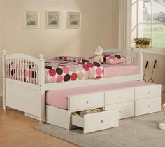 Storage Trundle Bed