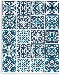 Tile Stickers wall stickers Tile decals for Kitchen Bathroom