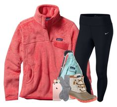 """"""""""" by pineappleprincess1012 ❤ liked on Polyvore featuring Patagonia, NIKE, Kavu, Sperry, Barbour and Tory Burch"""