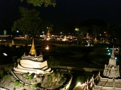 Fedor's great night shots of Mini Siam by zhaffsky