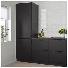 Ikea Kungsbacka Anthracite Door In 2019 Kitchen Kitchen Kitchen Cabinet Doors, Kitchen Shelves, Kitchen Cabinets, Kitchen Layout, Brown Cabinets, Kitchen Counters, Kitchen Backsplash, Kitchen Appliances, Modern Kitchens