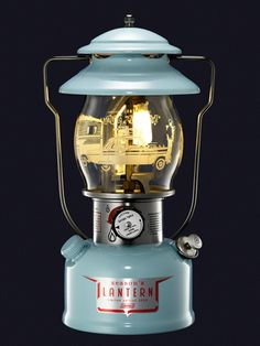 This is cool!! American classic vintage lantern by Coleman 2015