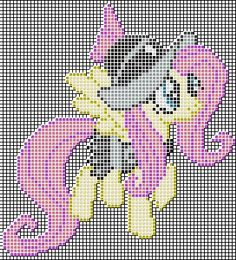 Fluttershy (Private Pansy) Pixel art design for MC by xxchippy13xx.deviantart.com on @DeviantArt
