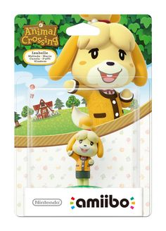 Animal Crossing amiibo: Isabelle  Like, Re-Pin. Thank's!!!  Repined by http://www.casualgameportal.com/category/nintendo/