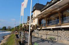 Blick aufs Rheinhotel Schulz