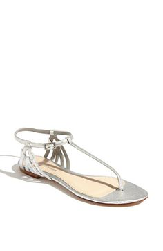 Shaya Sandal by Delman. This sandal & the one I posted previous to this are ideas of the type of shoe I'd like for my bridesmaids to wear.