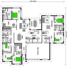 1000 ideas about granny flat plans on pinterest granny for House with attached granny flat plans