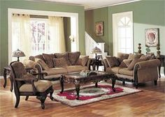 Bordeaux Traditional Living Room Collection 05600