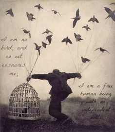 Jane Eyre Poetry - I am no bird...