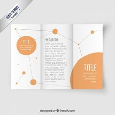 Brochure Trifold Vectors, Photos and PSD files Brochure Template, Vector Free, Templates, Vectors, Layout, Marketing, Ideas, Grief, Balcony Gardening