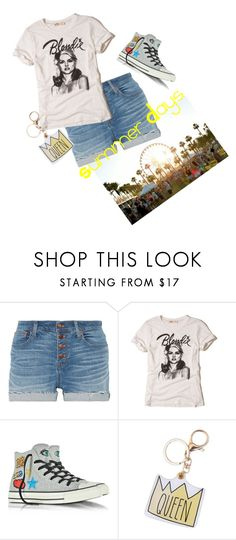 """Summer Days (Read Description)"" by life-is-trippy ❤ liked on Polyvore featuring Madewell, Hollister Co., Converse, Summer, yellow, girly and polyvoreset"
