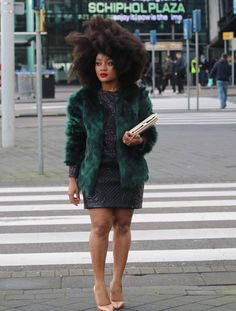 Cool CatCoat By Coolcat_Offical, Dress By H&M, Fashion By La Diva Plus Style