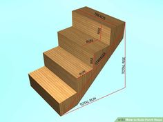 How to Build Porch Steps. Once carpenters were judged by how skilled they were by the projects they had worked on, the tools in their tool boxes and by their ability to build steps. Despite the skill level, building porch steps is still. How To Build Porch Steps, Front Porch Steps, Front Porches, Outdoor Steps, Patio Steps, Garden Steps, Mobile Home Steps, Stairs Treads And Risers, Porch Stairs